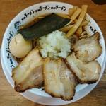 66047851 - 竹岡式肉醤油そば 900円