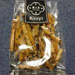 菓匠右門 - 有名な「右門」さんで出している「KENPI」の胡麻♡