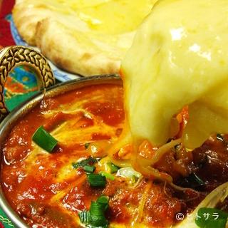 熟練のインド人シェフがつくる、本格的なインド料理