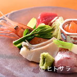 四季 粋花亭 - 南茅部に噴火湾。地場の旨い魚が味わえる『お造り』