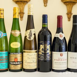 アルザス地方の蔵出し白ワインを豊富にセレクト