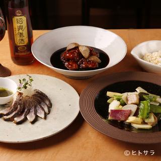 旬を奏でる中国料理に欠かすことができない和の野菜