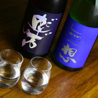 店主におまかせ☆こだわりの日本酒を日替わりでご提供!