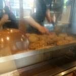 オープンキッチン然 - グリドル一杯のハンバーグ!!