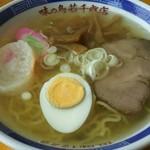 めいぷるサロンしろっぷ - 料理写真:塩ラーメン+チャーシュー+メンマ+たまご