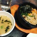 66054423 - スープは控えめなお味。