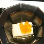 66055201 - お通し  玉子豆腐