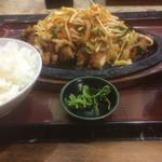 食事処 葵 - ダッカルビ定食 ご飯大盛