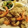 Sabella & La Torre - 料理写真:蟹と海老のガーリックソテー。日本人好みの味で美味しかった。