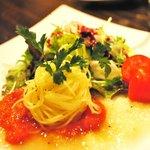 香材創作食房 アーユ - 3000円コース トマトのフレンチドレッシング