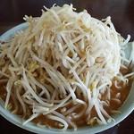 くるまやラーメン - 味噌ラーメン(もやし大盛)650円※もやし大盛無料