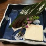 66061026 - 奈良漬けとクリームチーズ(コレがめちゃ合う合う)