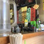 蕎麦bar - 超のつく夜の飲み物達、昼の天ぷらも超デカイ