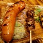 豊後酒場 - 串焼き3種