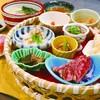 桔きょう - 料理写真:名張竹籠御膳(花) ¥2180