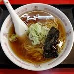 中華ハウス 天紅 - 昔風ラーメン・醤油(600円)