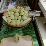 ぽるとがる - 料理写真:ミニメロンパン 70円