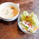 リバティハウス - スープとサラダ