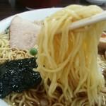 66063845 - 麺は細麺