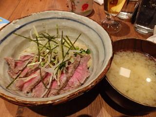 kawara CAFE&DINING 津田沼PARCO店 - ローストビーフスタミナ丼