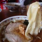 春木屋 - ワンタン麺1000円