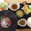 重永鮮魚店 - 料理写真:海鮮丼定食=1080円