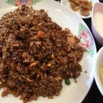 林華飯店 - 角煮炒飯(800円)