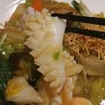 南国亭 - 中華料理ならではのイカの細工