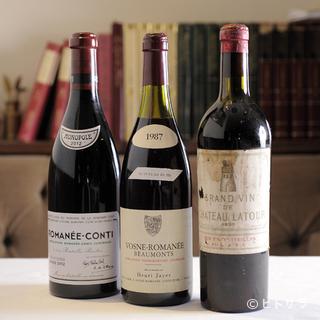 国内屈指の貯蔵数を誇る、ワインリストは必見