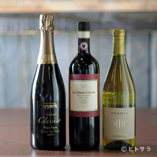 コストパフォーマンス抜群のイタリアワインが充実
