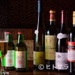 鉄板焼 みつい - 道産ワインを含め、季節ごとの厳選ワインをリーズナブルに堪能