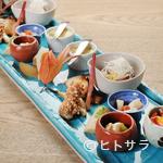 京甲屋 - 繊細なこだわりが詰まった料理が並ぶ『焼八寸』