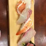 藤 - 料理写真:ランチは下駄の5巻から(税込1000円)(2017.05現在)