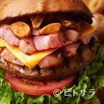 ヴィレッジヴァンガード ダイナー - 王様のブランチNo.1獲得!!〜王様のグルメアワード ハンバーガー部門〜『テキサスビーフィーバーガー』