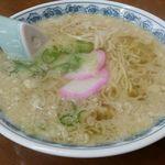 武蔵屋食堂 - 素ラーメン(大盛り)