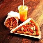 ピザーラエクスプレス - ピザとポテトとドリンクが付いたBセット!!