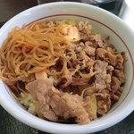 なか卯 - 和風牛丼大盛