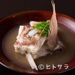 青柳 - 小山氏の徳島への郷土愛が結実した『鯛の淡々』