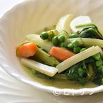 レストラン・バスク - 生ハムの旨みと野菜の優しい甘みが染み渡る『メネストラ』