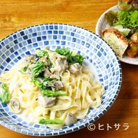 +f - 季節の野菜や地元の大和肉鶏などを使用した3種類から選べる『パスタランチ』