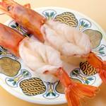 回転寿司 豊魚 - 赤海老