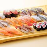 回転寿司 豊魚 - 1皿2貫250円