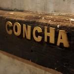 ベジョータコンチャ - 入口銘板「CONCHA」
