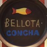 ベジョータコンチャ - 入口銘板「BELLOTA・CONCHA」