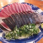 田中鮮魚店 - カツオの刺身とタタキです☆ 2017-0419訪問
