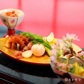 伝統的な日本料理と新しい日本料理の融合