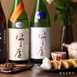綿のように軽い口当たりの日本酒『綿屋』