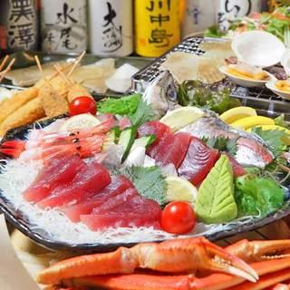 築地直送の新鮮魚介を使うおすすめ料理