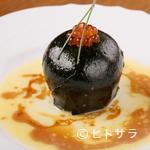 炉端 町家 - 海苔とイクラの風味が楽しめる、人気メニュー『じゃがバター』