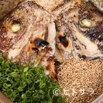 炉端 町家 - 鯛と鰹の出汁がよく出ている、店の名物料理『町家の鯛めし』 3〜4人前